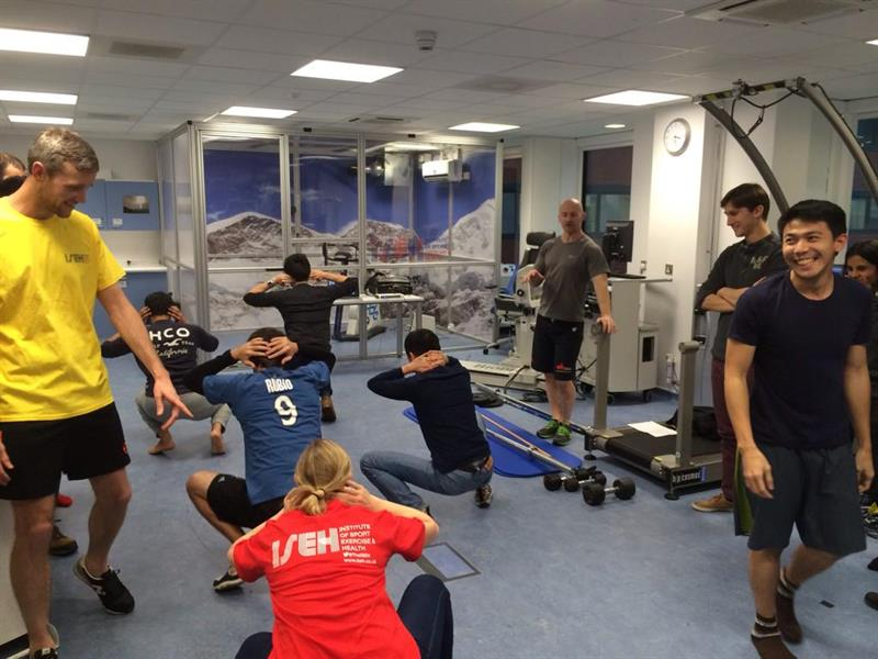 Master's in Sports Medicine, Exercise and Health celebrates first term at  ISEH